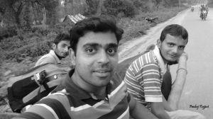 The bhainsa gadi ride!